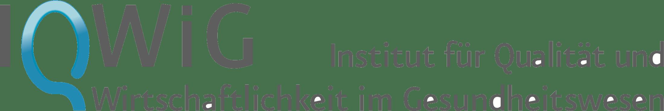Institut für Qualität und Wirtschaftlichkeit im Gesundheitswesen